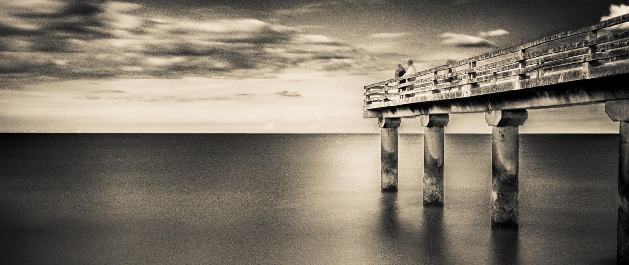 Comme un balcon sur l'immensité de la mer. © Gilbert Wayenborgh