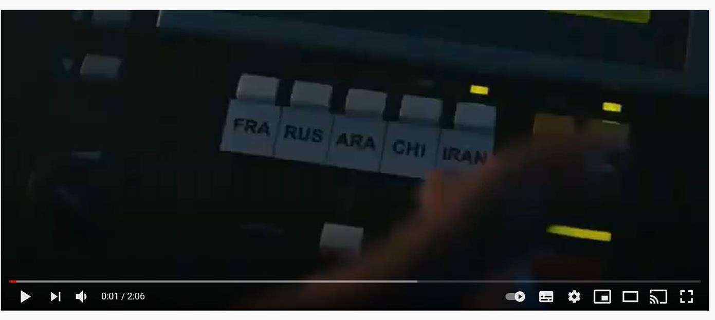 Vidéo en direct en plusieurs langues